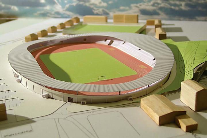 Idejno rješenje stadiona ''Tušanj''